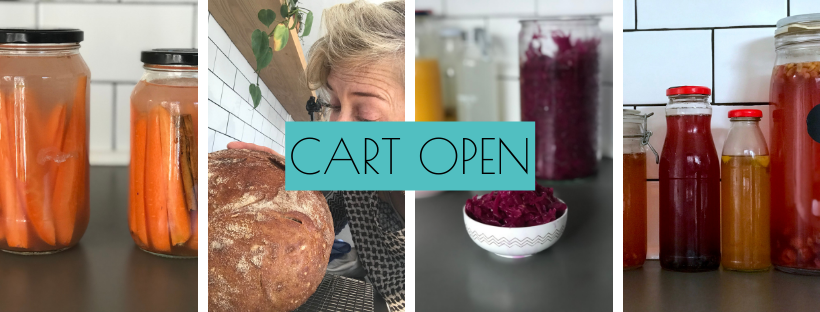 {CART OPEN} Stace's Fermenting Course