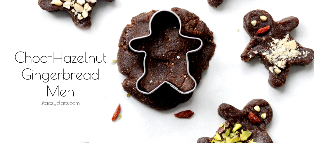 Choc-Hazelnut Gingerbread Men