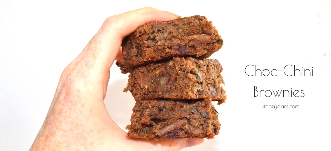 Zucchini Chocolate Brownie Recipe