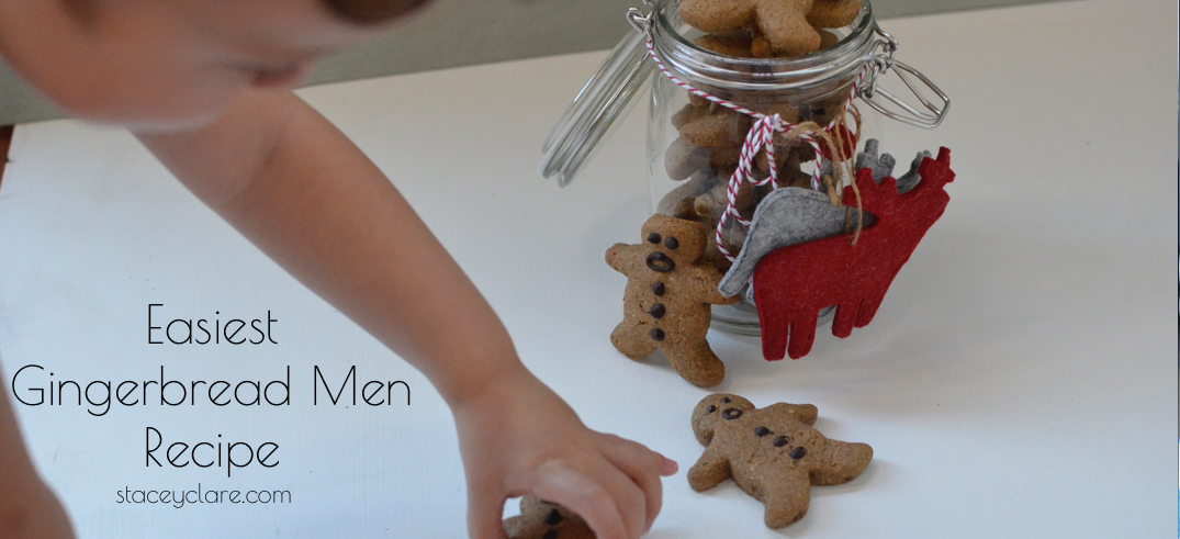 Easy and quick to make gingerbread cookies made from your pantry