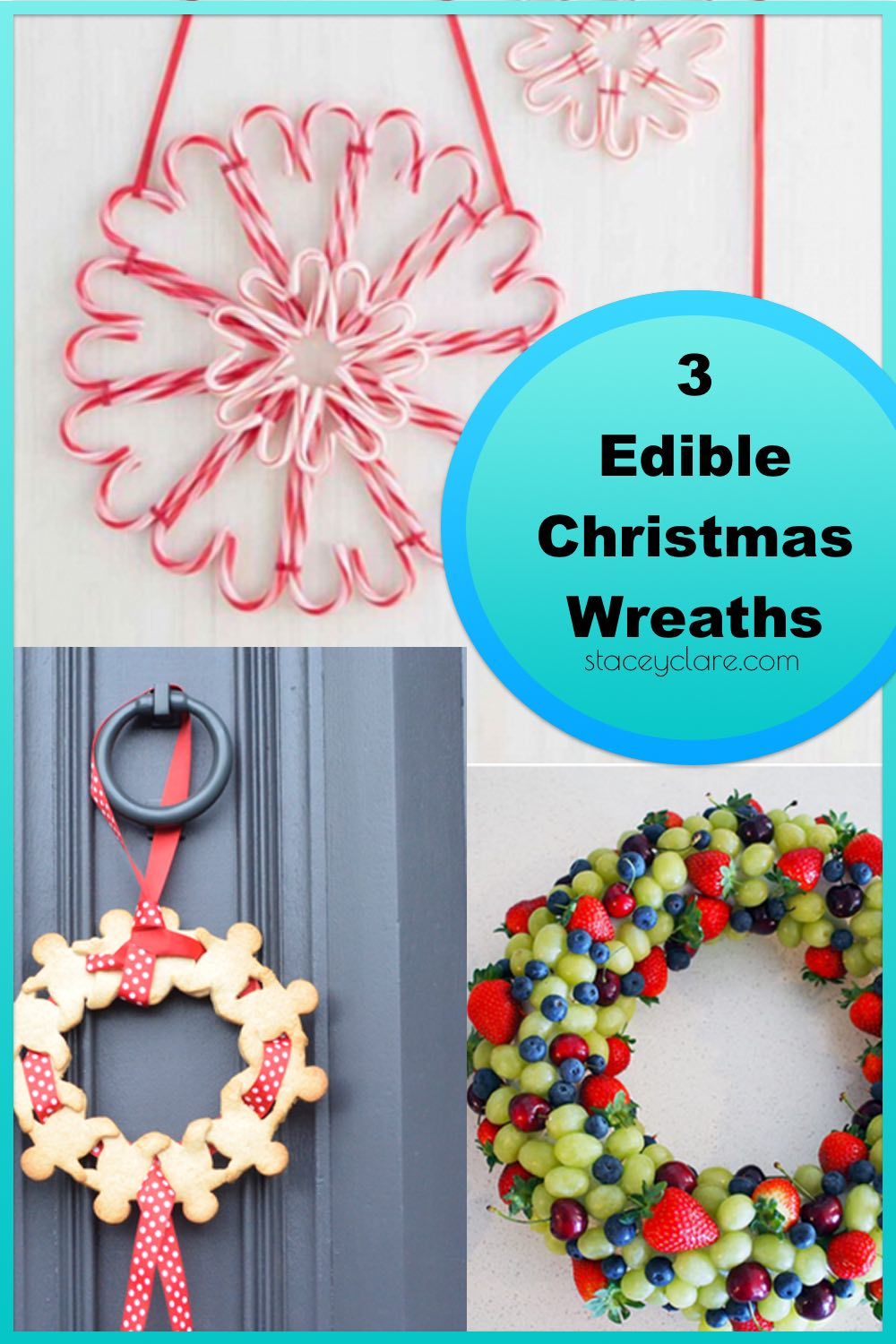 3 Edible Food Wreaths You've Got To Make This Christmas