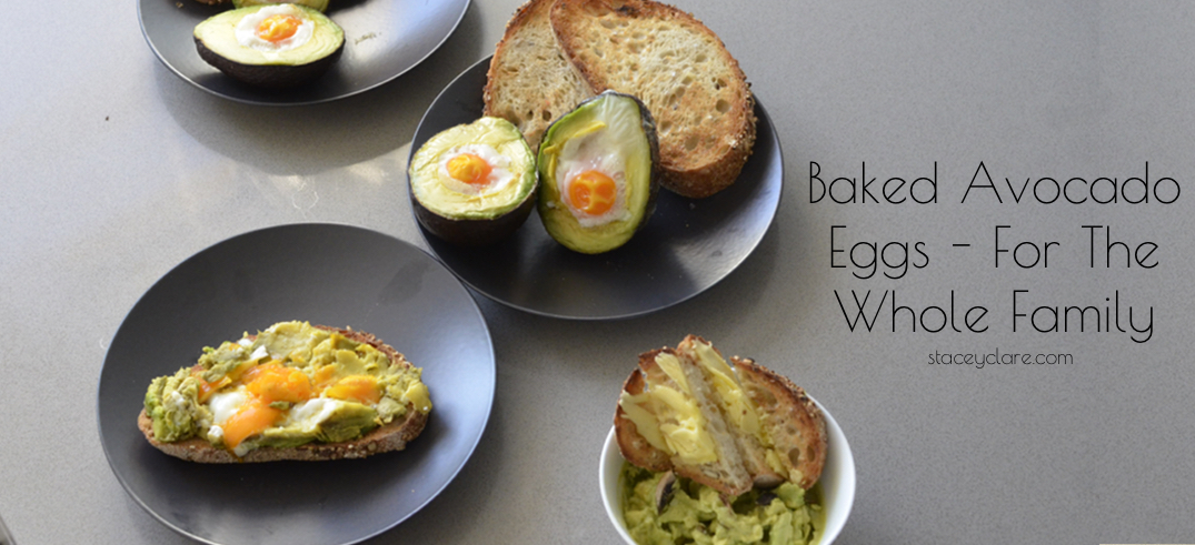 Baked Avocado Eggs – For The Whole Family