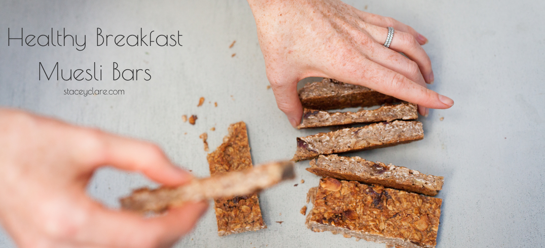 Healthy Breakfast Muesli Bar Recipe