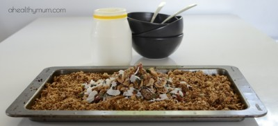 Healthy Cinnamon and Fig Gluten-Free Muesli