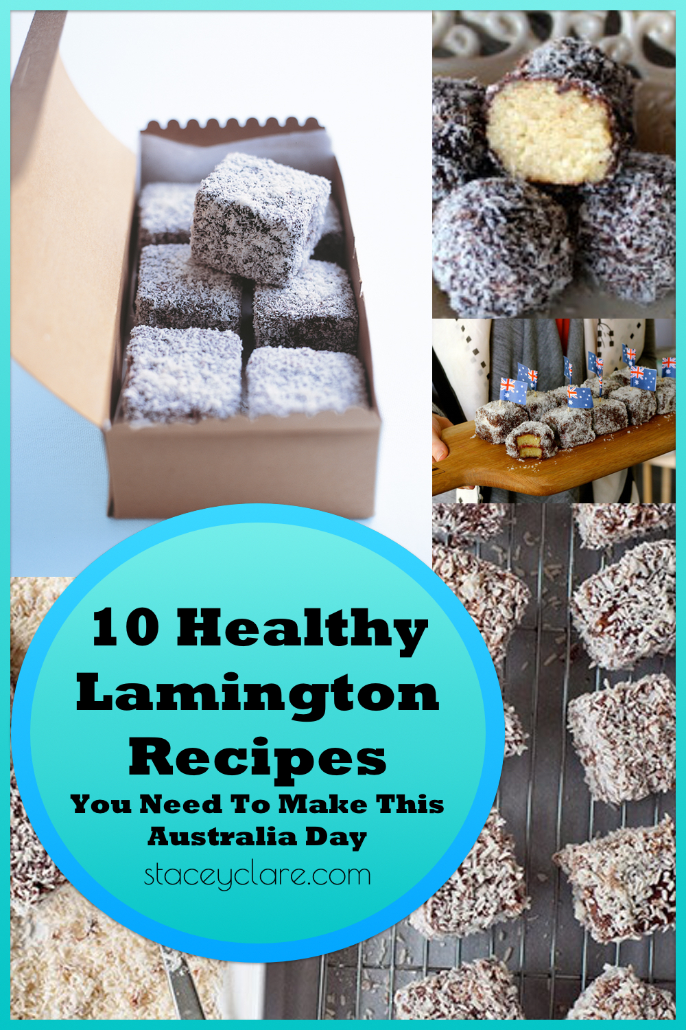 10 Healthy Lamington Recipes You Need To Make This Australia Day