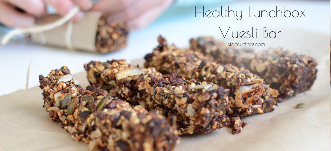 Healthy Lunchbox Muesli Bars