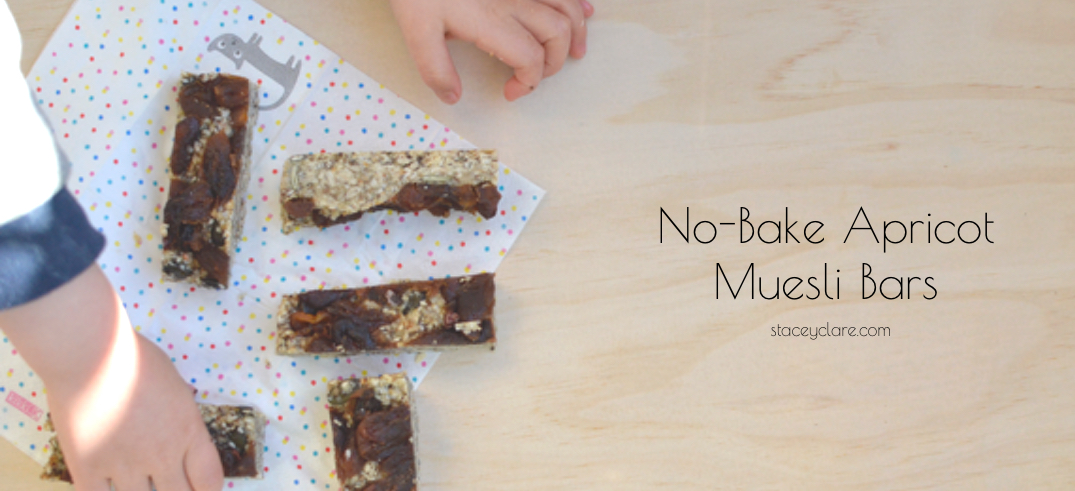No-Bake Apricot Muesli Bar Recipe