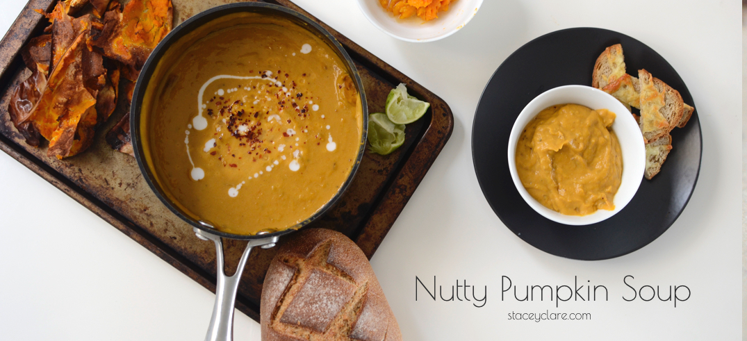 Not-So-Nutty Pumpkin Soup